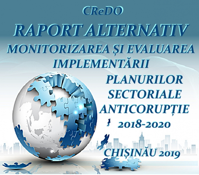 Raport alternativ SNIA Planuri Sectoriale Anticorupție 2018-19